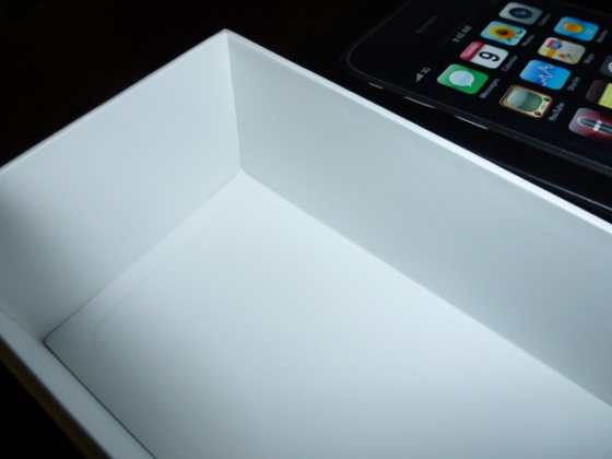 iPhoneの貼り箱