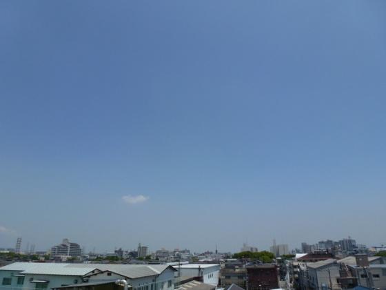 会社の屋上